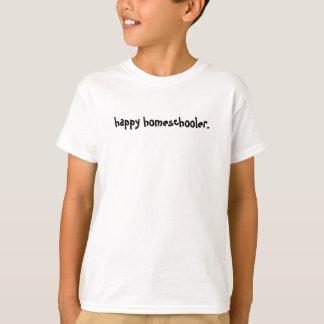 Glückliches Homeschooler T-Shirt