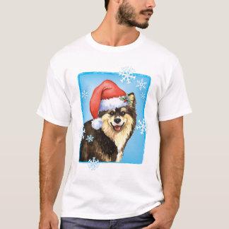 Glückliches Howliday finnisches Lapphund T-Shirt