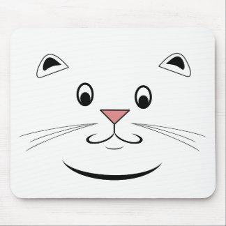 Glückliches Katzen-Gesicht Mousepads
