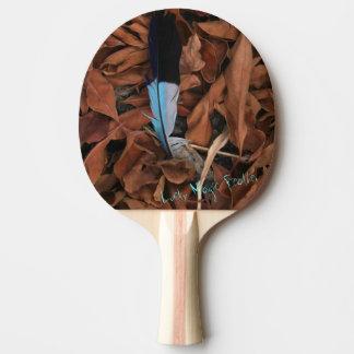 Glückliches magisches Feder-Klingeln Pong Paddel Tischtennis Schläger