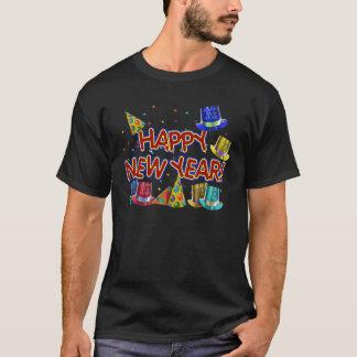 Glückliches neues Jahr-Party-Hüte T-Shirt