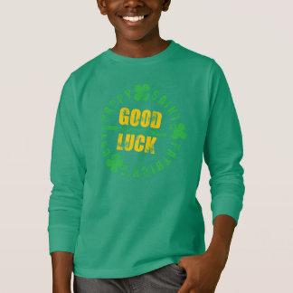 Glückliches St. Patricks Day-viel Glück T-Shirt