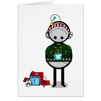 Glückliches Weihnachten Karte
