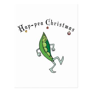Glückliches Weihnachten Postkarte