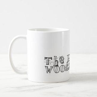 glückliches woodshedder 4 kaffeetasse