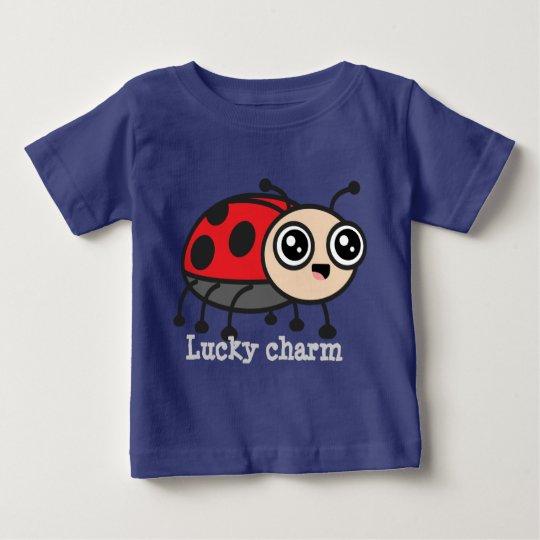 Glücksbringer-Marienkäfer scherzt T-Stück Baby T-shirt