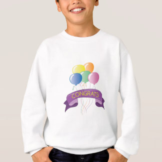 Glückwunsch-Ballone Sweatshirt