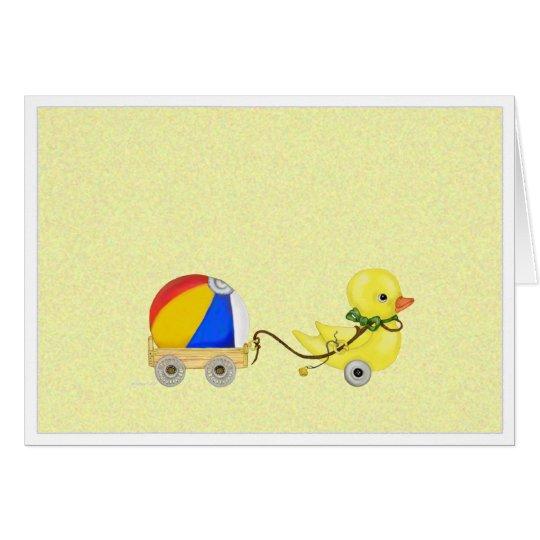 Glückwunsch-Karte der Enten-. .duck Grußkarte