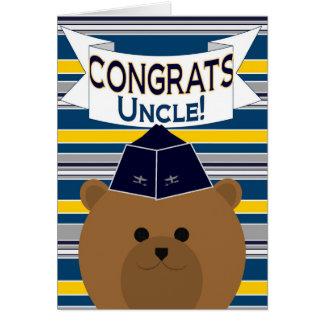 Glückwunsch - Luftwaffe/Onkel Karte