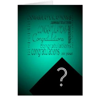 Glückwünsche auf Ihrem Abschluss #2 kundengerecht Grußkarte