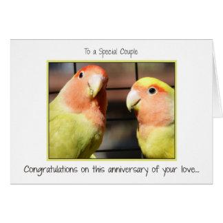 Glückwünsche auf Ihrem Jahrestag Grußkarte