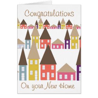 Glückwünsche auf Ihrem neuen Zuhause Grußkarte