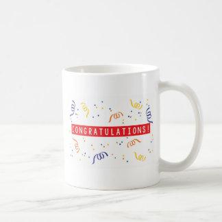 Glückwünsche Kaffeetasse