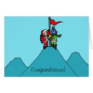 Glückwünsche! Karte