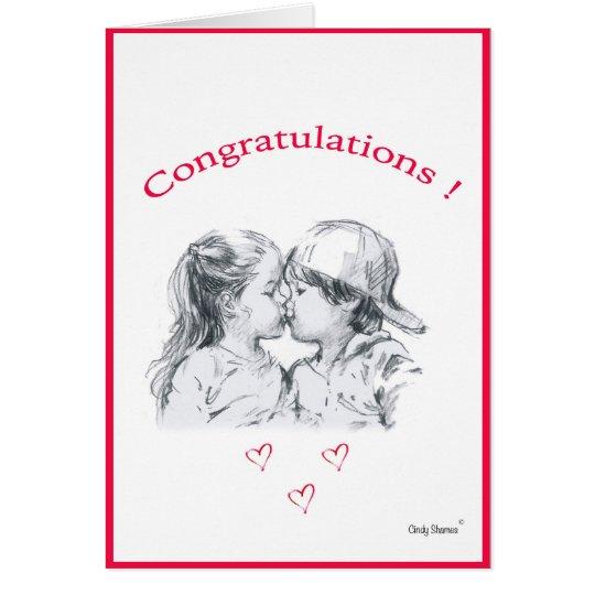 Glückwunschkarte Grußkarte