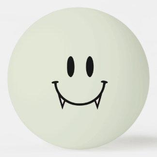 Glühen im dunklen Vampirs-smiley-Klingeln Pong Ping-Pong Ball
