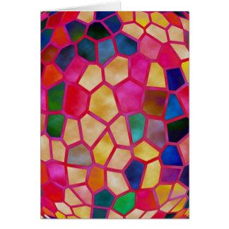 Glühen Kristall: Fröhliches Weihnachten Karte