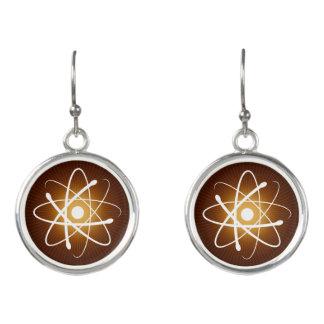 Glühende Aussenseiter-Geschenke des Atom-  Ohrringe