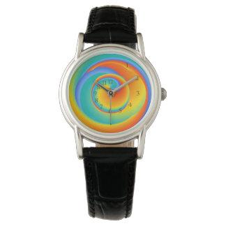 glühende Drehbeschleunigung - Armbanduhr