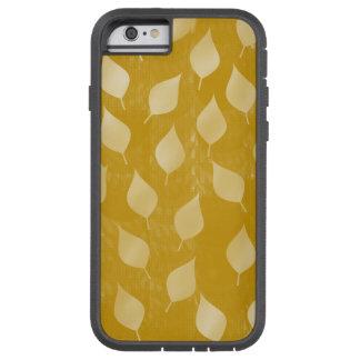 Glühendes GoldBlätter Tough Xtreme iPhone 6 Hülle