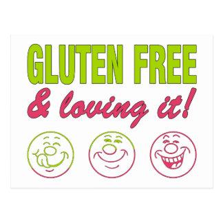 Gluten, das es frei u. geliebt worden sein würden! postkarten