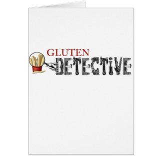 Gluten-Detektiv Grußkarte