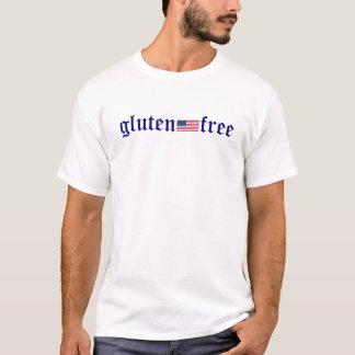 Gluten-frei - US-Flagge T-Shirt