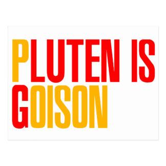 Gluten ist Gift Postkarte
