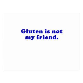 Gluten ist nicht mein Freund Postkarte