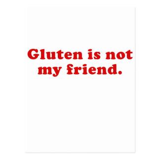 Gluten ist nicht mein Freund Postkarten