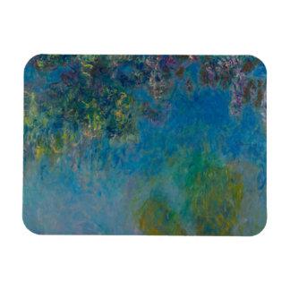 Glycines par Claude Monet Magnets En Rectangle