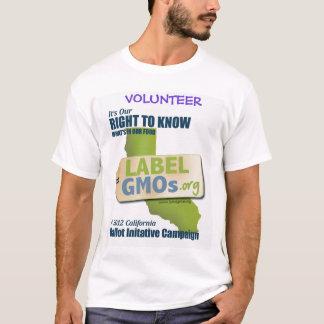 GMO-Freies Santa Cruz, GVO ungetestet, T-Shirt