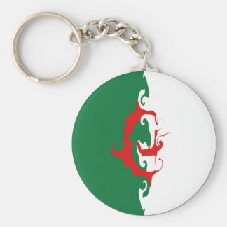 Gnarly Flagge Algeriens Schlüsselband