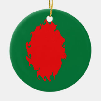 Gnarly Flagge Bangladeschs Weihnachtsornament
