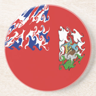 Gnarly Flagge Bermudas Getränkeuntersetzer