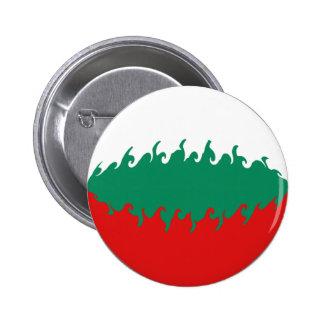 Gnarly Flagge Bulgariens Anstecknadel