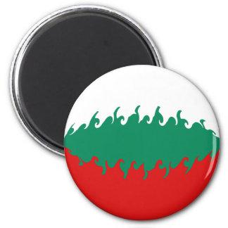 Gnarly Flagge Bulgariens Kühlschrankmagnet