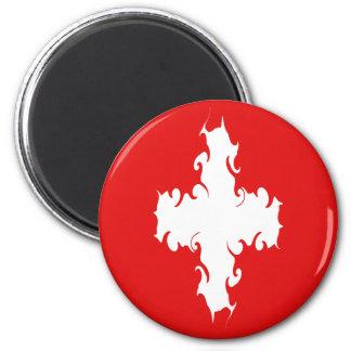 Gnarly Flagge der Schweiz Magnete