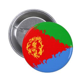 Gnarly Flagge Eritreas Anstecknadelbutton