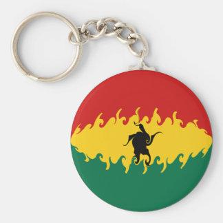 Gnarly Flagge Ghanas Schlüsselbänder