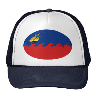 Gnarly Flagge Liechtensteins Tuckercaps