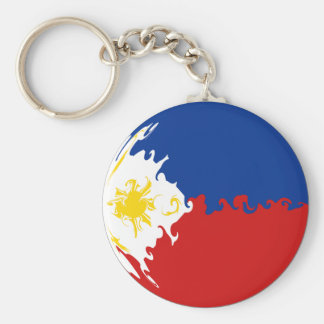 Gnarly Flagge Philippinen Schlüsselanhänger