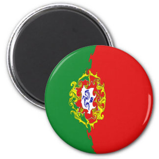 Gnarly Flagge Portugals Kühlschrankmagnete