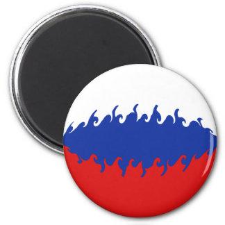 Gnarly Flagge Russlands Kühlschrankmagnet
