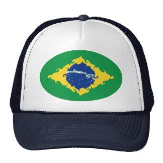 Gnarly Flaggen-Hut Brasiliens Retro Cap
