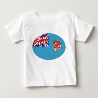Gnarly Flaggen-T - Shirt Fidschis