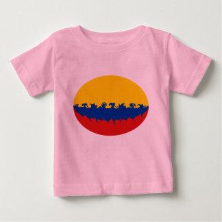 Gnarly Flaggen-T - Shirt Kolumbiens