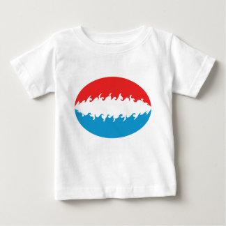 Gnarly Flaggen-T - Shirt Luxemburgs