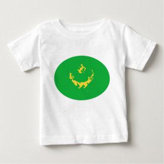 Gnarly Flaggen-T - Shirt Mauretaniens