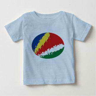 Gnarly Flaggen-T - Shirt Seychellen
